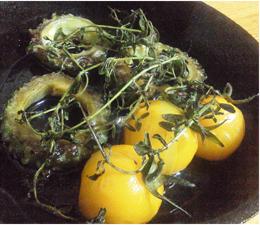 野菜のハーブ蒸し焼き