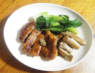 鶏の桑焼き