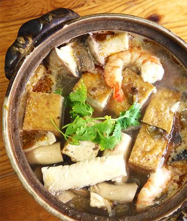 暑い日のタイカレー鍋