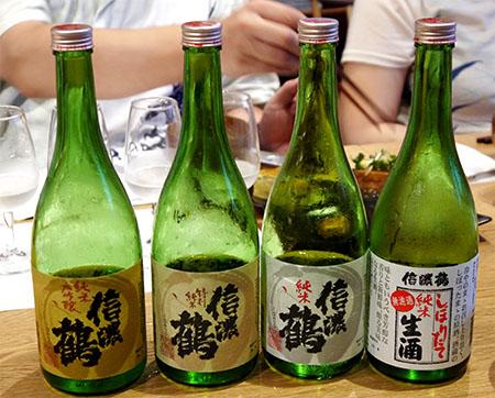 銀座NAGANO日本酒講座 酒蔵をお招きして~長生社~
